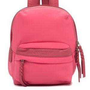 Liebeskind Berlin Selby pink nylon mini backpack